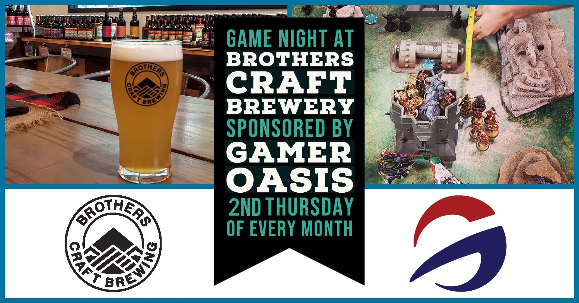 Game Night at Brothers Craft Brewery
