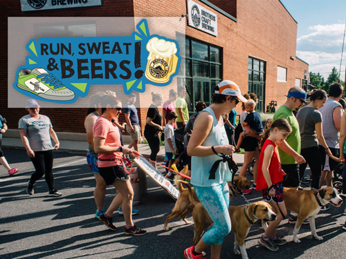 Run, Sweat, & Beers!