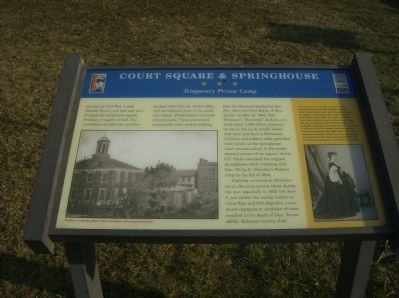 Court Square & Springhouse (Rockingham County Courthouse)