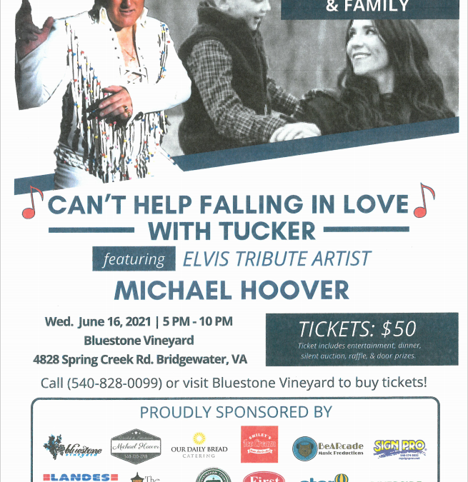 """""""Can't Help Falling In Love"""" with Tucker"""