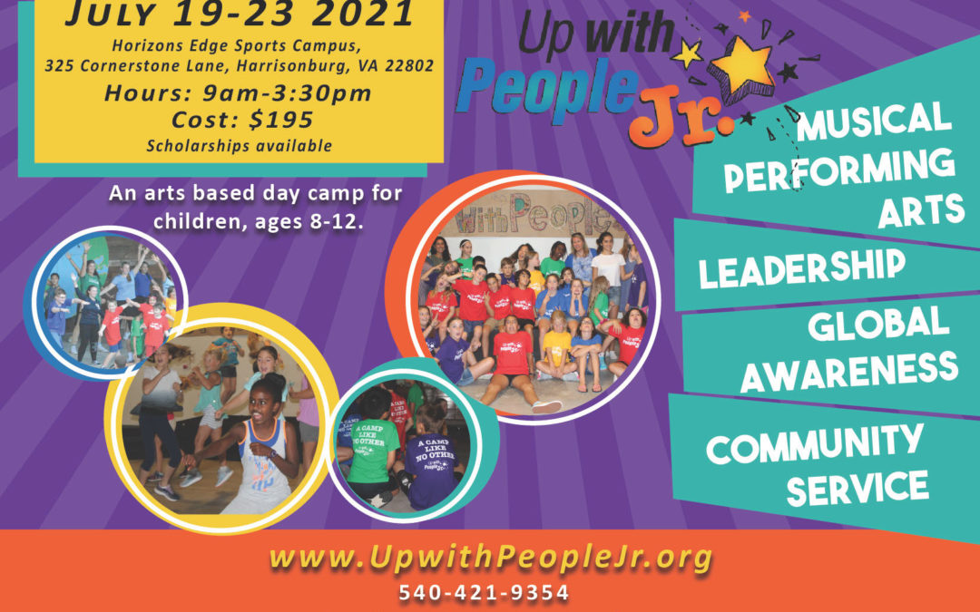 Up with People Jr. Day Camp