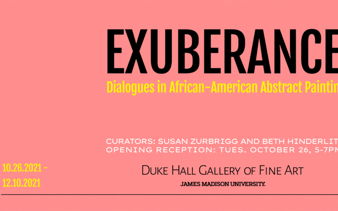 EXUBERANCE: Dialogues in African American Abstract Painting